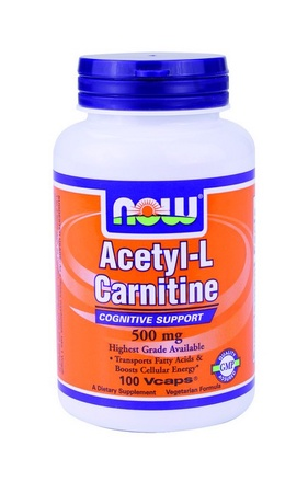 Now Foods Acetyl-L-Carnitine 500 Mg - 100 Cap