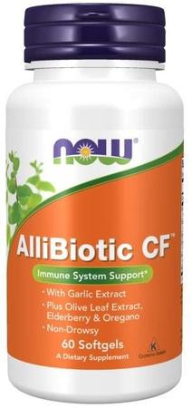 Now Foods Allibiotic CF - 60 Softgels