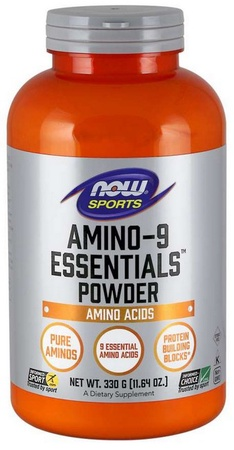 Now Foods Amino-9 EAA's Powder  Unflavored - 59 Servings (330 grams)
