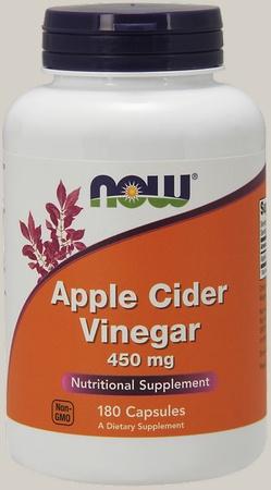 Now Foods Apple Cider Vinegar 450 Mg - 180 Cap