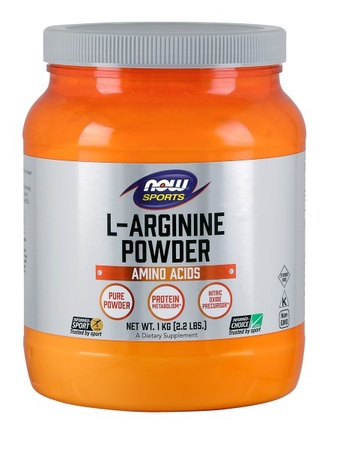 Now Foods Arginine Powder (Pure L-Arginine) - 2.2 Lb (1000 grams)