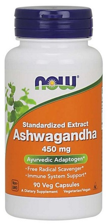 Now Foods Ashwagandha 450 Mg - 90 Cap