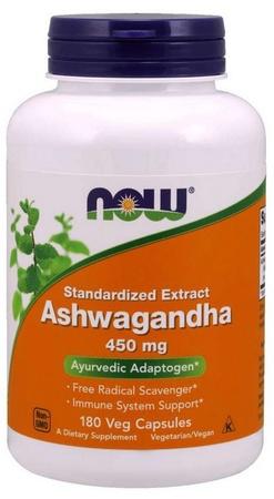 Now Foods Ashwagandha 450 Mg - 180 Cap