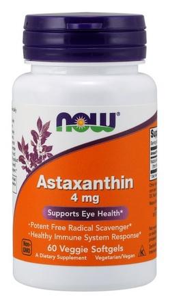 Now Foods Astaxanthin 4 Mg - 60 Cap