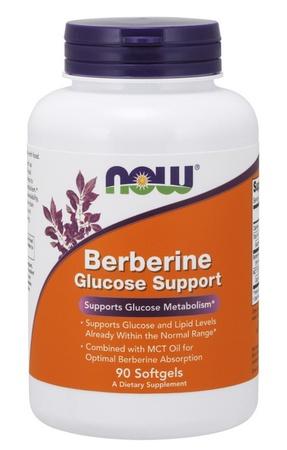 Now Foods Berberine Glucose Support - 90 Sofgels