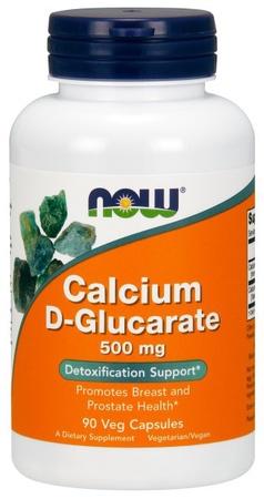 Now Foods Calcium D-Glucarate 500 Mg - 90 Cap