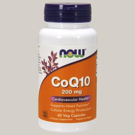Now Foods CoQ10 200 Mg - 60 Cap