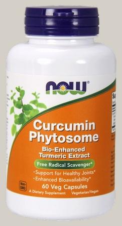 Now Foods Curcumin Phytosome Turmeric Extract - 60 Cap