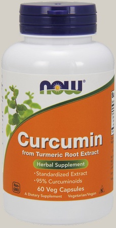 Now Foods Curcumin Turmeric Root Extract - 60 VCap