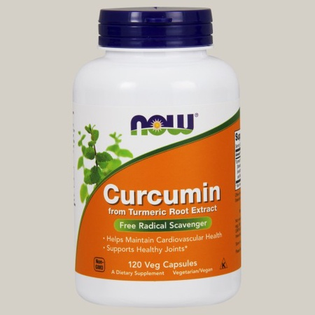Now Foods Curcumin Turmeric Root Extract - 120 VCap
