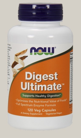 Now Foods Digest Ultimate - 120 Cap
