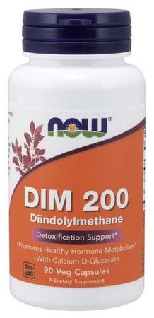 Now Foods DIM 200 Diindolylmethane - 90 Cap