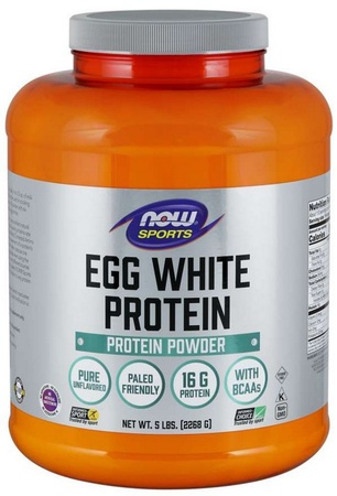 Now Foods Egg White Protein Powder Unflavored - 5 Lb