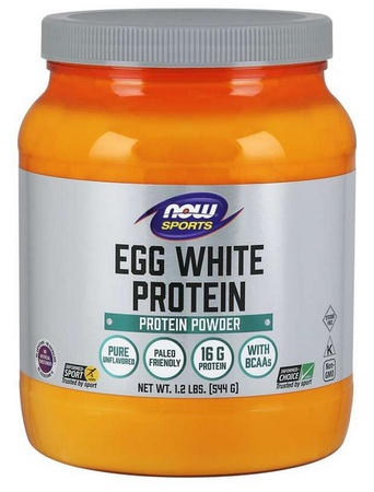 Now Foods Egg White Protein Powder Unflavored - 1.2 Lb