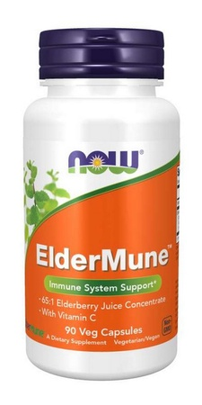 Now Foods Eldermune Elderberry - 90 Cap