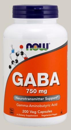 Now Foods Gaba 750 Mg - 200  VCap