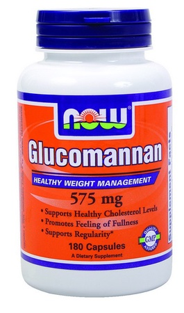 Now Foods Glucomannan 575 Mg - 180 Cap