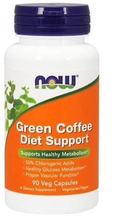Now Foods Green Coffee Diet Support - 90 Cap