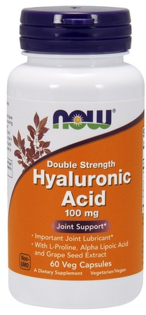 Now Foods Hyaluronic Acid 100 Mg - 120 Cap