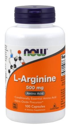 Now Foods L-Arginine 500 Mg - 100 Cap
