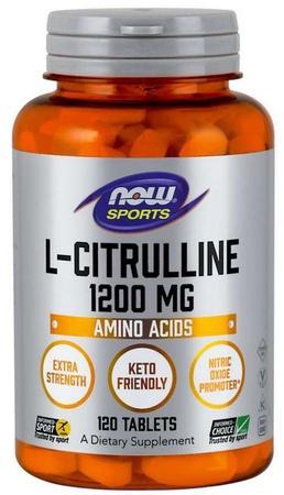 Now Foods L-Citrulline 1200 Mg - 120 Tablets