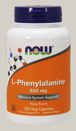 Now Foods L-Phenylalanine 500 Mg - 120 Cap