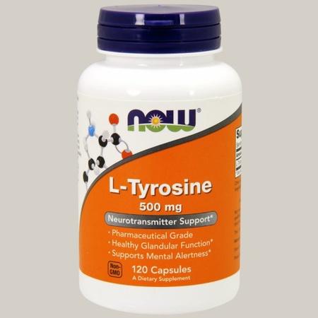 Now Foods L-Tyrosine 500 Mg - 120 Cap