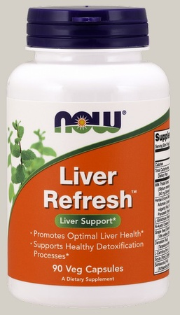 Now Foods Liver Refresh - 90 Cap