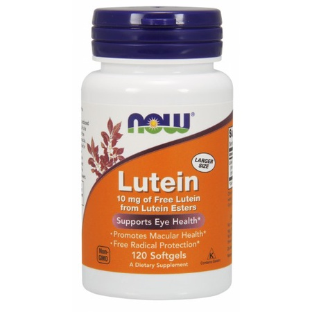 Now Foods Lutein 10 Mg - 120 Cap