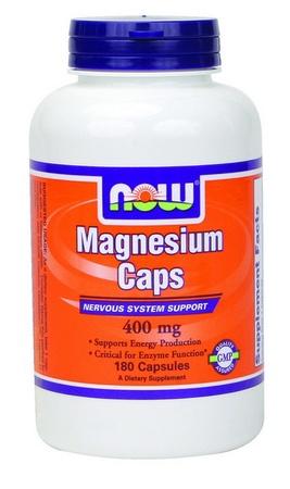 Now Foods Magnesium 400 Mg - 180 Cap