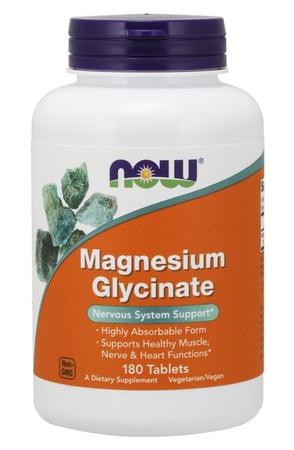 Now Foods Magnesium Glycinate 100 Mg - 180 Tab