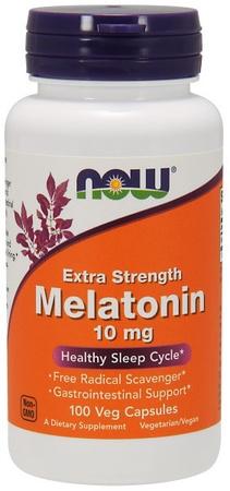 Now Foods Melatonin 10 Mg Extra Strength - 100 Cap