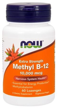 Now Foods Methyl B-12  10,000 mcg. - 60 Lozenges