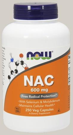 Now Foods NAC 600 Mg - 250 Cap