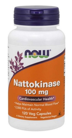 Now Foods Nattokinase 100 Mg - 120 Cap