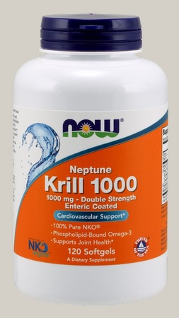 Now Foods Neptune Krill Oil 1000 mg Enteric Coated - 120 Cap