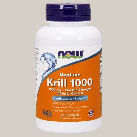 Now Foods Neptune Krill Oil 1000 mg Enteric Coated - 60 Cap
