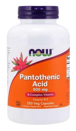 Now Foods Pantothenic Acid (Vitamin B-5) 500 Mg - 250 Cap