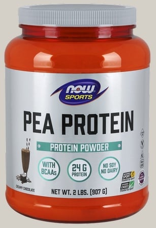 Now Foods Pea Protein Non-GMO Chocolate - 2 Lb