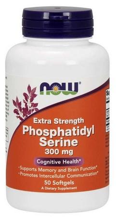 Now Foods Phosphatidylserine Extra Strength 300 Mg - 50 Softgels