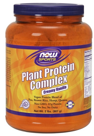 Now Foods Plant Protein Complex  Creamy Vanilla - 2 Lb