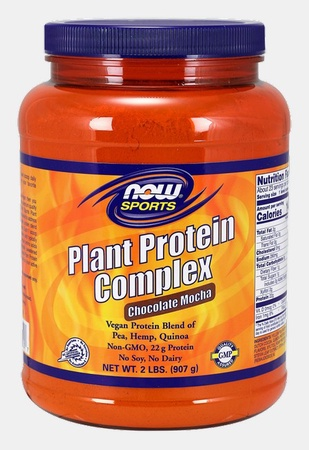 Now Foods Plant Protein Complex Chocolate Mocha - 2 Lb