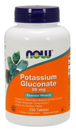 Now Foods Potassium Gluconate 99 Mg - 250 Tab