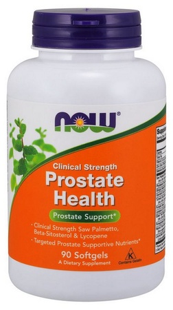 Now Foods Prostate Health Clinical Strength Softgels - 90 Softgel