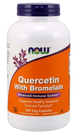 Now Foods Quercetin with Bromelain - 240 Cap