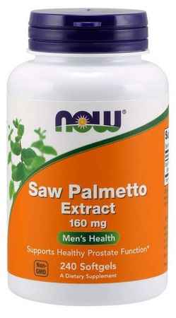 Now Foods Saw Palmetto 160 Mg Standardized Extract - 240 Softgels