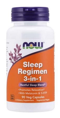 Now Foods Sleep Regimen - 90 Cap