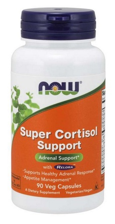 Now Foods Super Cortisol Support with Relora - 90 Cap