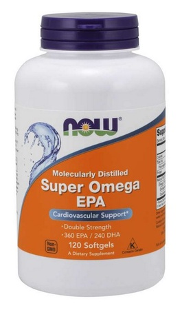 Now Foods Super Omega EPA 1200 Mg - 120 Softgels
