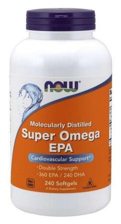Now Foods Super Omega EPA 1200 Mg - 240 Softgels